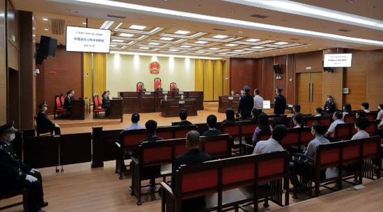 中共海南省委原常委、海口市委原书记张琦受贿案一审开庭