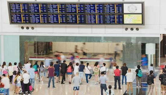 """海口美兰国际机场航站楼须凭""""健康码""""通行"""