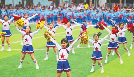 海口美兰:阳光体育 快乐成长