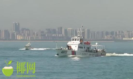 海南海警局与海口海关联合开展打击成品油走私海陆联合行动
