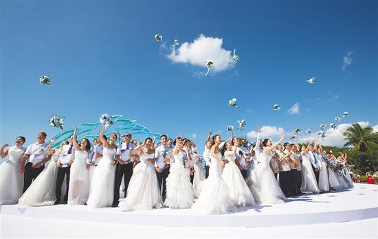 """三亚""""百亿级""""婚庆旅游产业驶入"""
