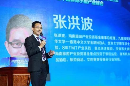 海南旅游产业基金董事总经理、九鼎投资海南总经理张洪波