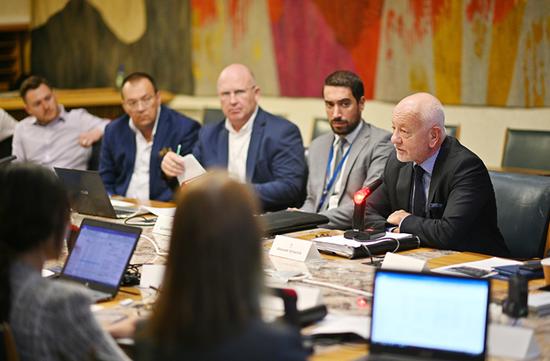 联合国教科文组织总部信息与传播处的项目方案专家 Andrea Cairola先生