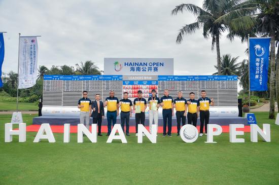 2020海南高尔夫球公开赛暨业余锦标赛博鳌落幕,王子凡、张慧分获男女冠军