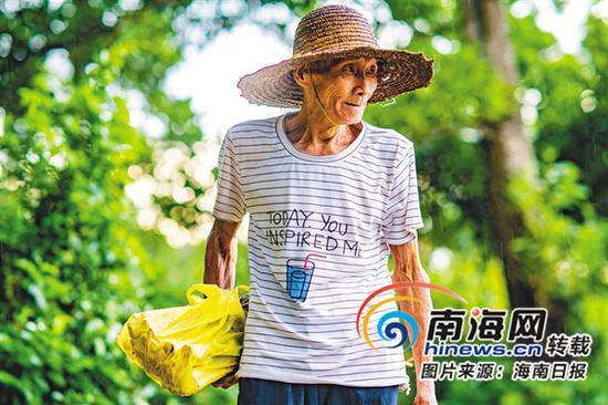 良好的生态环境,给老人提供了舒适的生活条件。