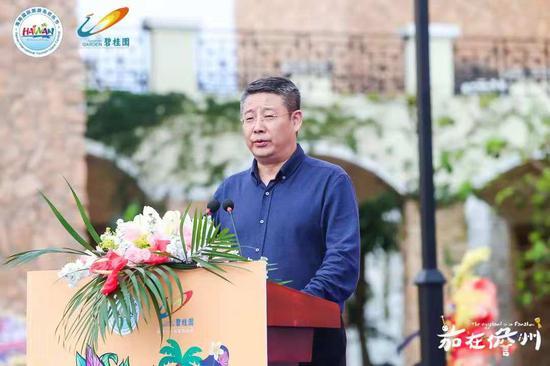 海南省旅游和文化广电体育厅副厅长曹远新