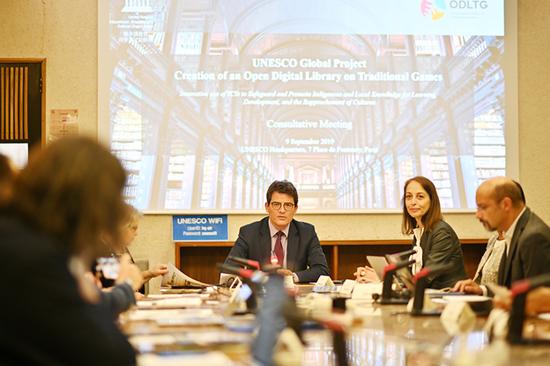 联合国教科文组织主管传播和信息助理总干事Moez Chakchouk先生为本次会议致开幕辞