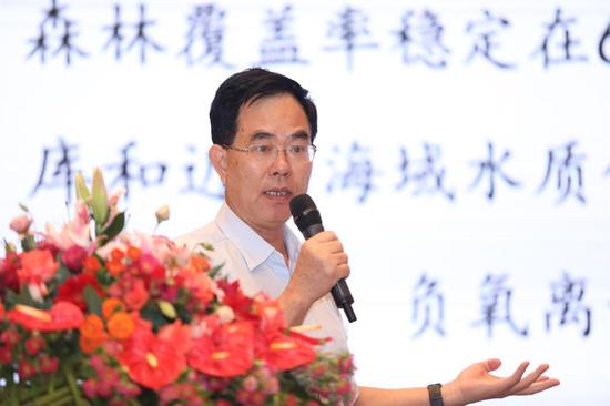 博鳌国际养生论坛组委会副主任、原海南省卫健委副巡视员曹江