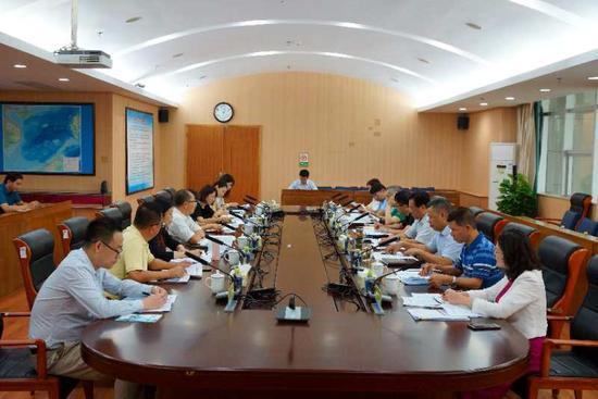 海税局召开中国海洋石油集团有限公司调研组专题座谈,及时收集和回应企业涉税诉求