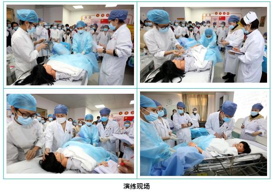 海南省人民医院开展一系列孕产妇急危重症培训演练