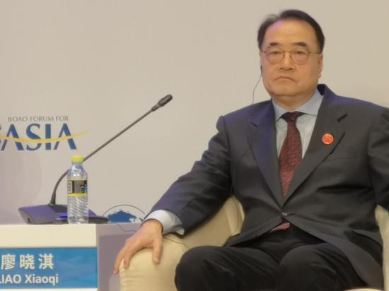 廖晓淇:过度保护电子商务数据将不利于发展