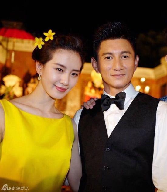 吴奇隆刘诗诗大婚 前妻马雅舒登热搜第一图片