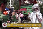 """海南119消防宣传周启动 百余名记者""""变身""""消防员"""