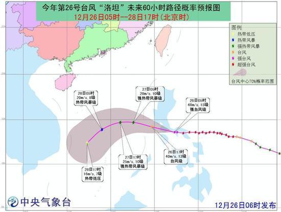 """台风蓝色预警!!""""洛坦""""登陆菲律宾 海南沿海有大风"""