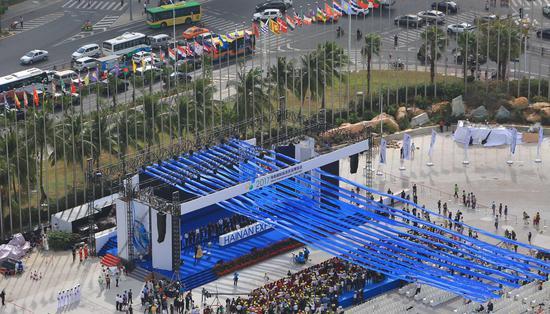海博会开幕式