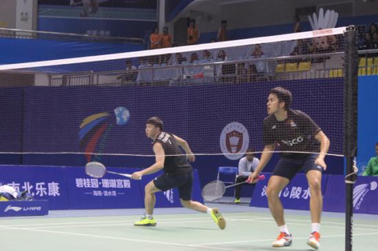 碧桂园·珊瑚宫殿杯2017中国(陵水)国际羽毛球挑战赛 1月14