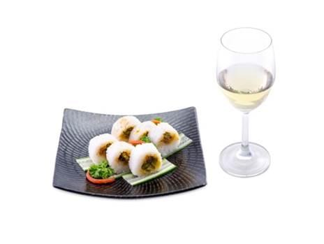 咸鸭蛋黄米饭卷