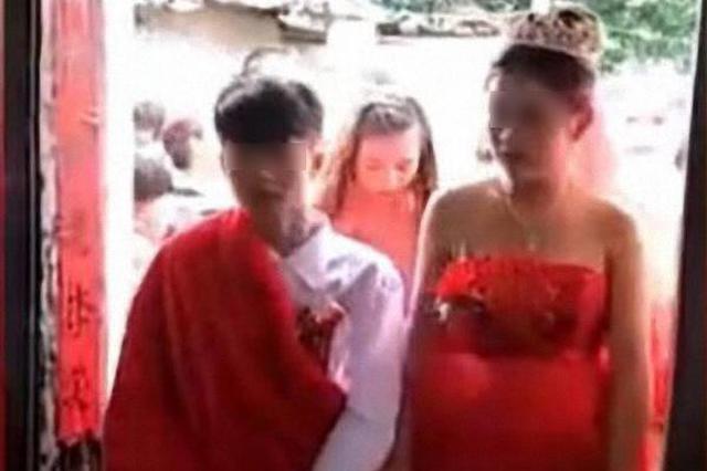 """定安2名未成年人""""结婚"""" 专家:看不见未来的婚姻"""