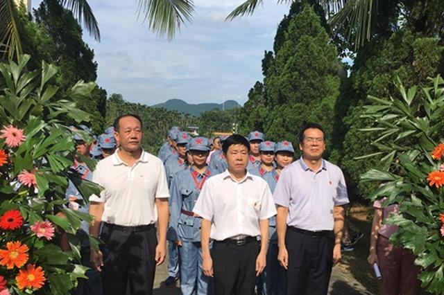 39名处级党员干部母瑞山进修 与群众同吃同住同劳动