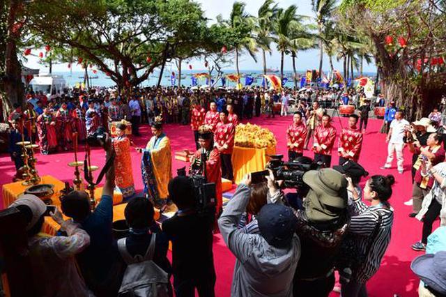 第十四届中国三亚龙抬头节:万人齐聚大小洞天祭海祈福
