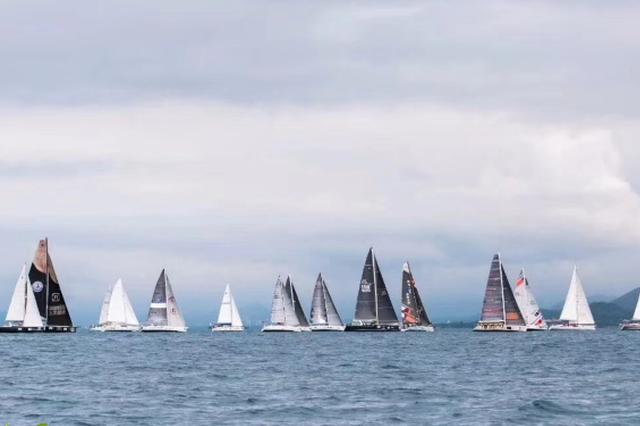 司南杯帆船赛激烈角逐 12支船队晋级西沙长航拉力赛