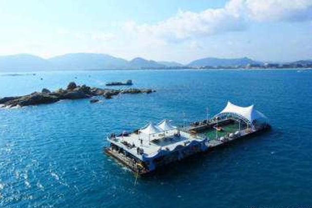 三亚打造海上旅游黄金水道 将海上游项目推向市场