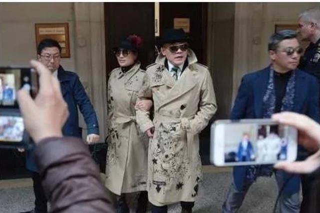 第9次开庭周立波及妻子未现身 将延期至5月9日