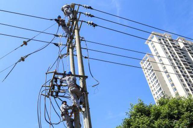 海口电网新增29条线路 缓解府城、金盘等用电压力