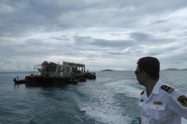 三亚海事局全面做好防抗热带低压准备工作