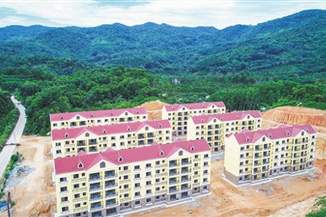万宁棚改安置房项目主体完工 120户村民将迁新居