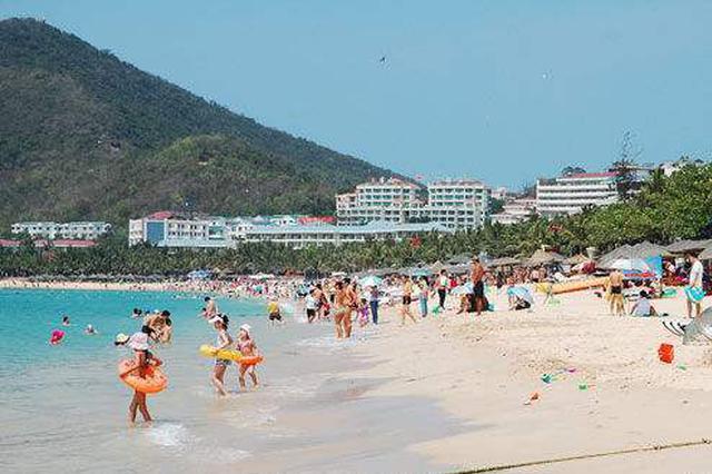 三亚假期首日八大景区接待游客约5万人次