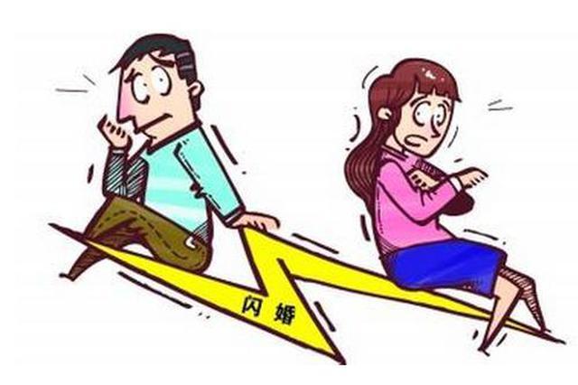 一对夫妻闪婚2个月就要离 丈夫:她不肯同房像骗婚