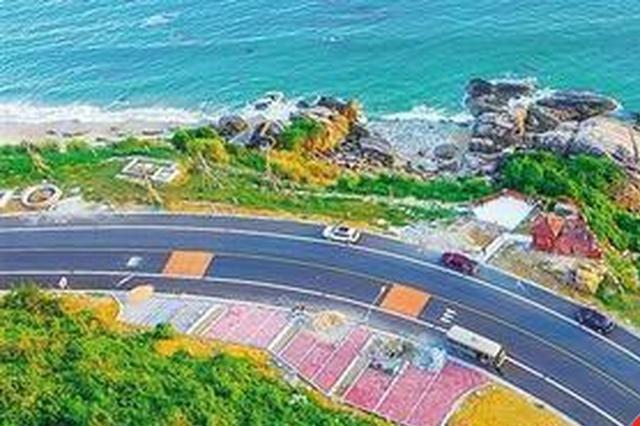 海南环岛旅游公路智慧和美丽兼具 全线约1/5能看海