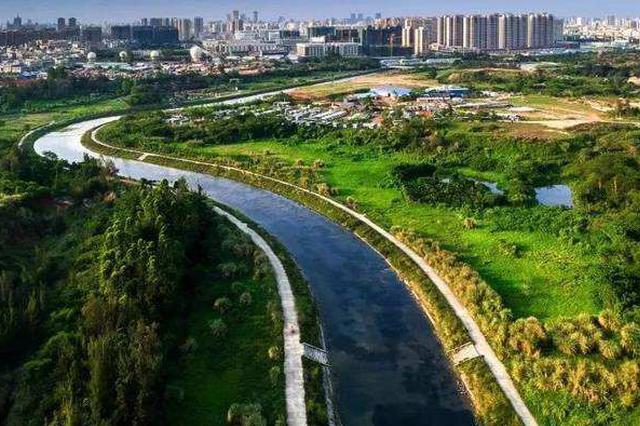 海口加强五源河湿地公园生态保护 发现违法可举报