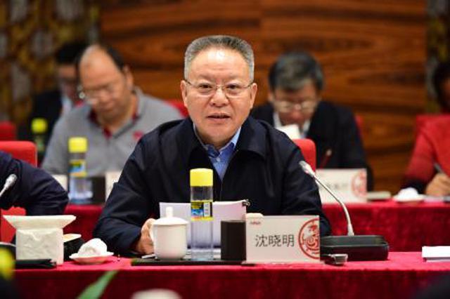 沈晓明:协同推进海口江东新区临空产业发展