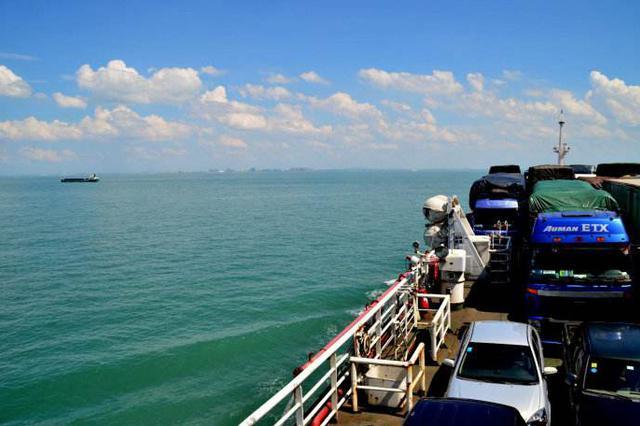 琼州海峡累计停航133小时 海口仅用不足24小时清空待渡车辆