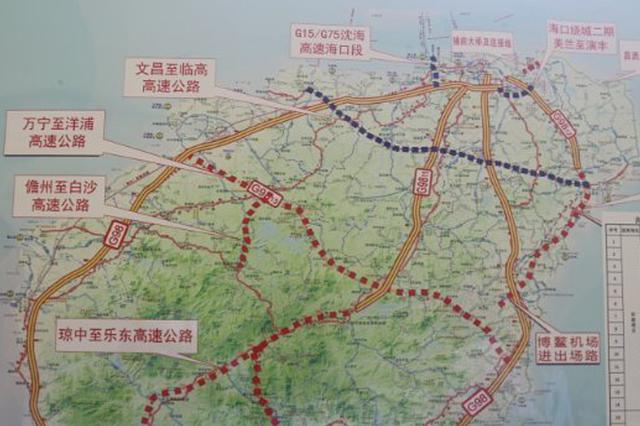 太美了!一起来体验海南田字形高速公路的诗情画意