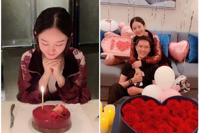 冯绍峰送赵丽颖花有浪漫含义:亲爱的跟我走吧