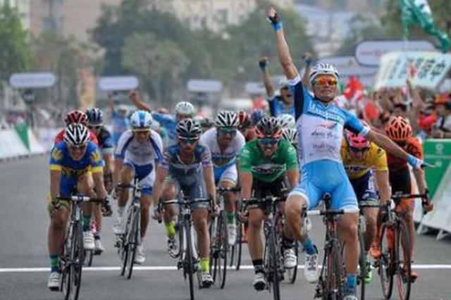 2018環海南島國際公路自行車賽開幕