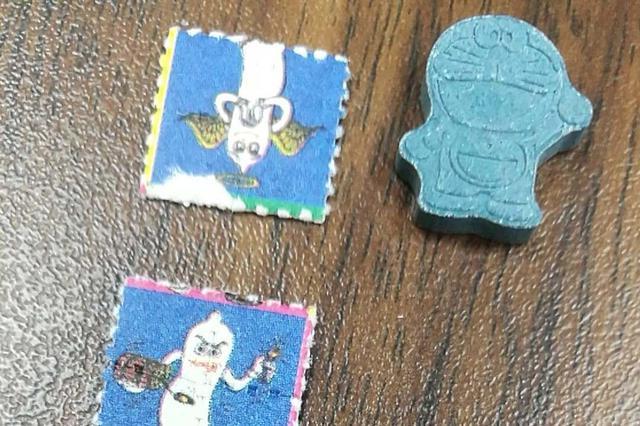 """這""""郵票""""竟是毒品!海口海關破獲走私新型毒品入境案"""