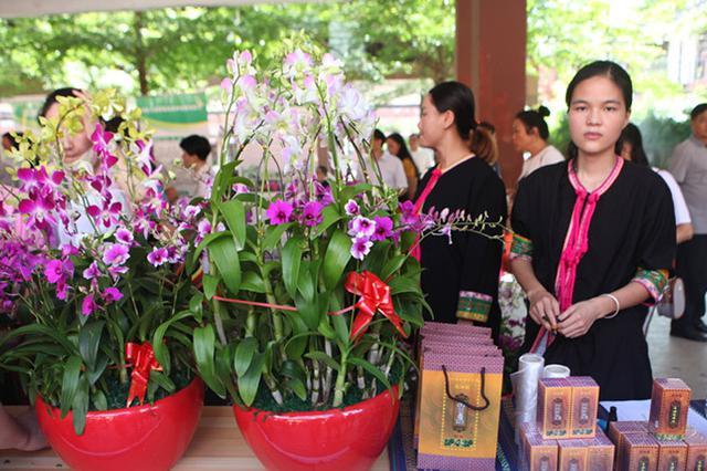 東方貧困戶農產品展銷集市3天銷售額達12.21萬元
