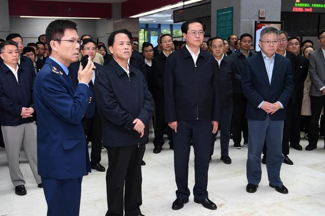 刘赐贵率海南党政代表团赴浙江考察学习
