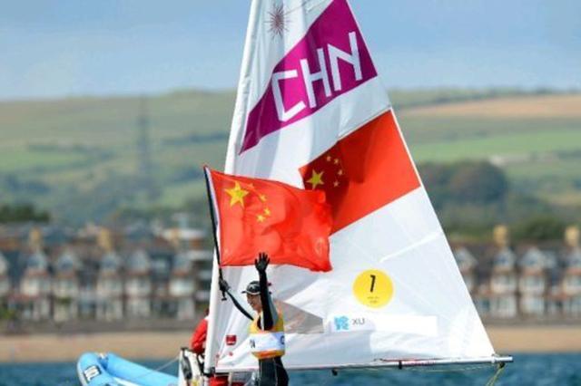 奥运冠军徐莉佳成环海南岛国际大帆船赛推广大使