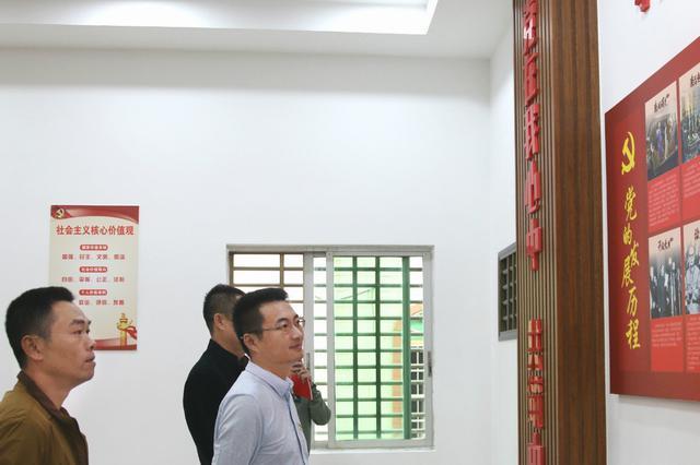 林勉:林梧村要以党建引领,促进农村集体经济发展