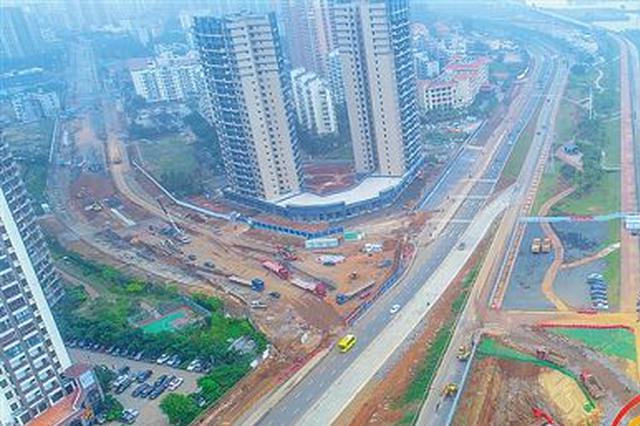 海口争分夺秒推进文明东越江通道项目建设