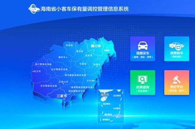 2019年海南小客车增量指标配置计划公布 新能源车指标不限定