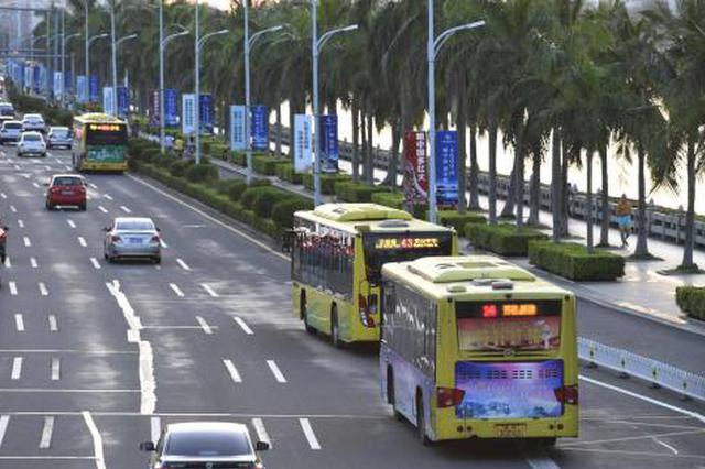 春节期间海口所有公交线路不放假 储备应急运力200台车辆