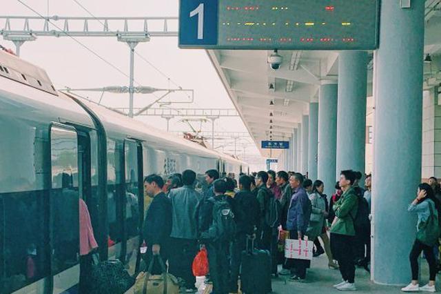 今年春运,海南环岛高铁西段预计发送旅客55万人次