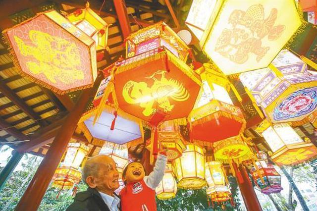 上元灯树千光照 穿越千年看海南特色元宵习俗(图)