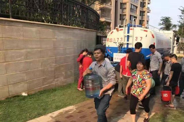 快速排除供水故障 海口中海锦城小区物业获业主点赞
